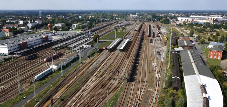 Rendering-Bahn