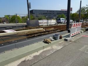 Bahnhofsberg Detail Schiene