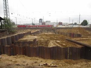 Baufortschritt Anfang Juni 2016