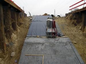 Zugang Gleis 2, 3