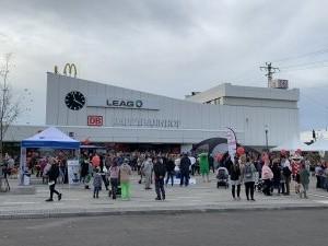 2019-10-21 KGO Eröffnung Bahnhofsvorplatz (201)