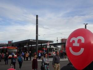 2019-10-21 KGO Eröffnung Bahnhofsvorplatz (3)
