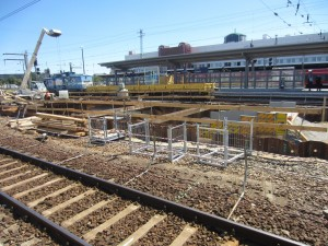 Bahnsteig 4,5 6