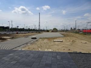 Baustelle zw den Schienen (8)