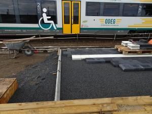 Baustelle zwischen Gleisen (5)