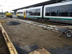 Baustelle zwischen Gleisen (6)