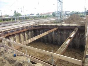1. Tunnelsegment Bahn