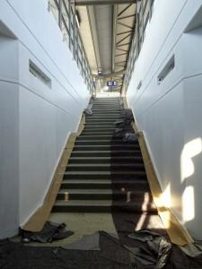 Tunnel Treppenaufgang zu Bstg.8
