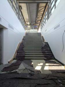 Tunnel Treppenaufgang zu Bstg.9-10